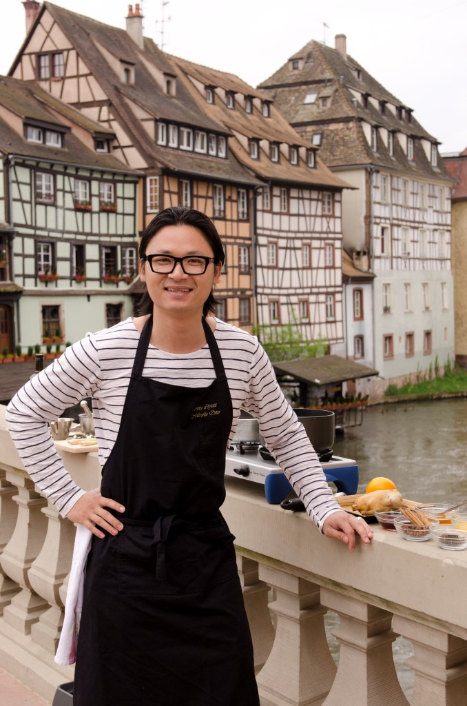 Luke Nguyen in TLC's Luke Nguyen's France.