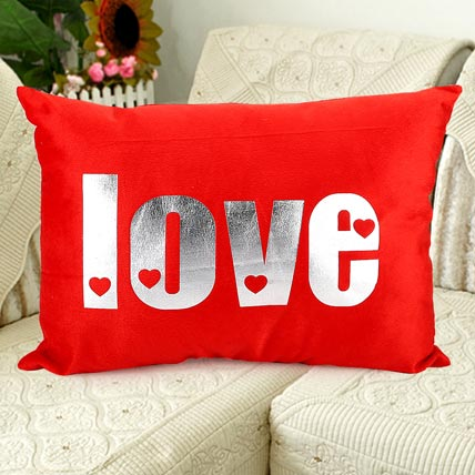 Love at Infinity cushion