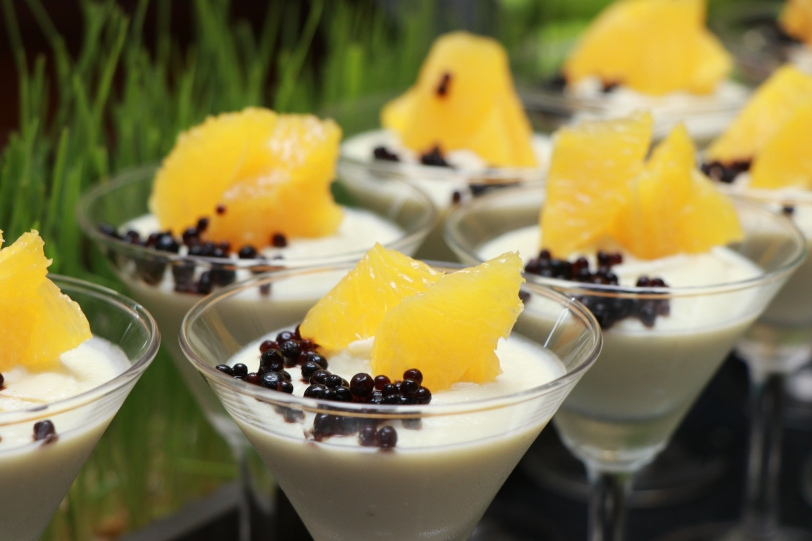 Cauliflower and Orange mousse